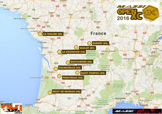 Massi open xc 2016 carte